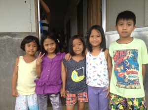 some of the children living at the homes